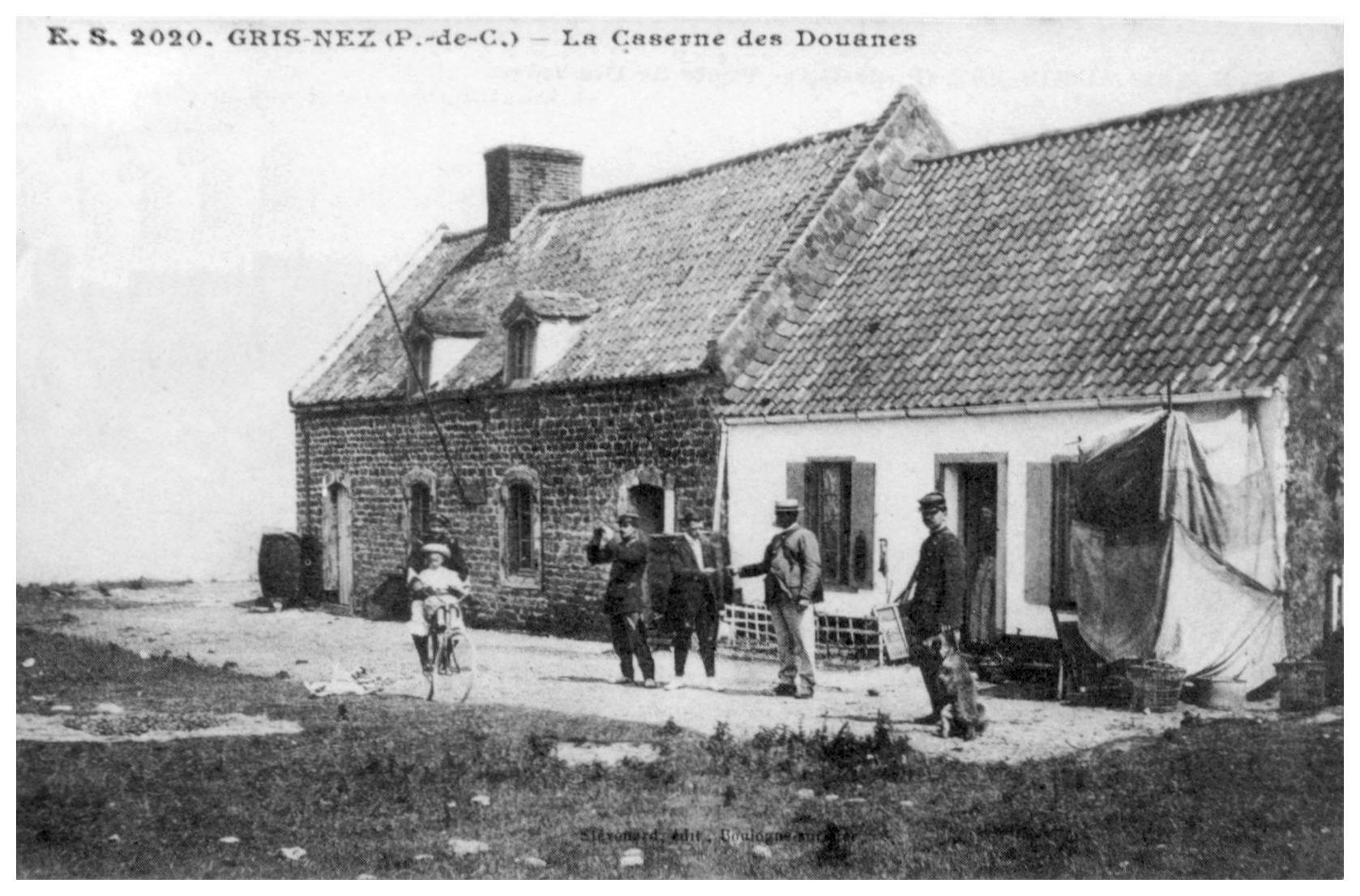 La caserne des Douanes au Cap Gris Nez