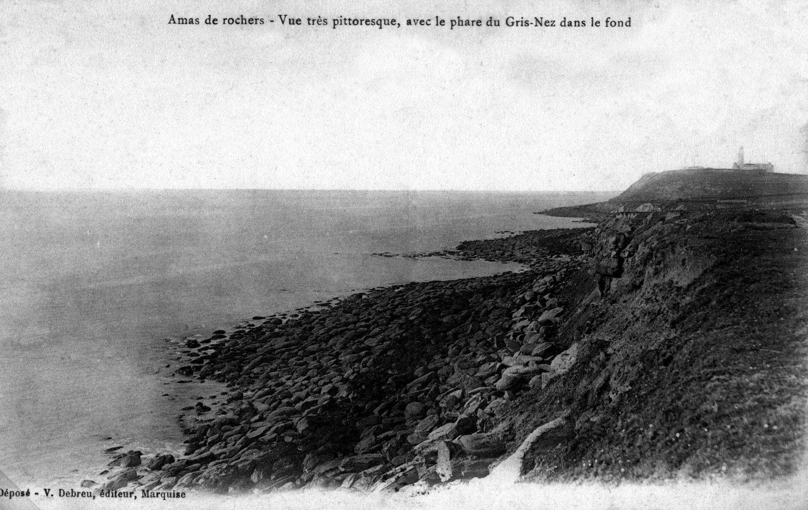 Vue des crans des Sillers et de Quette vers le Cap Gris Nez