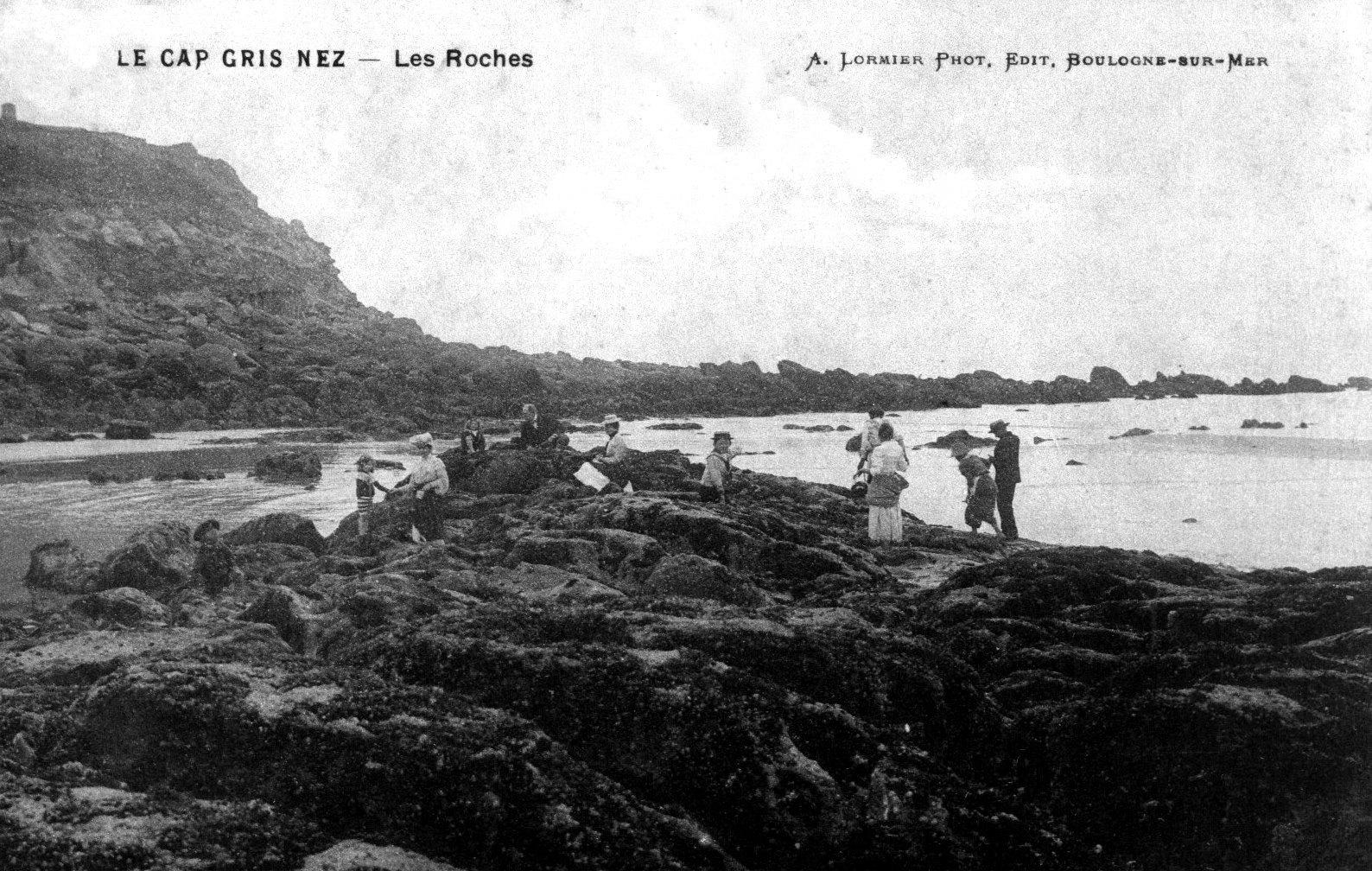 La plage de la Sirène à Audinghen
