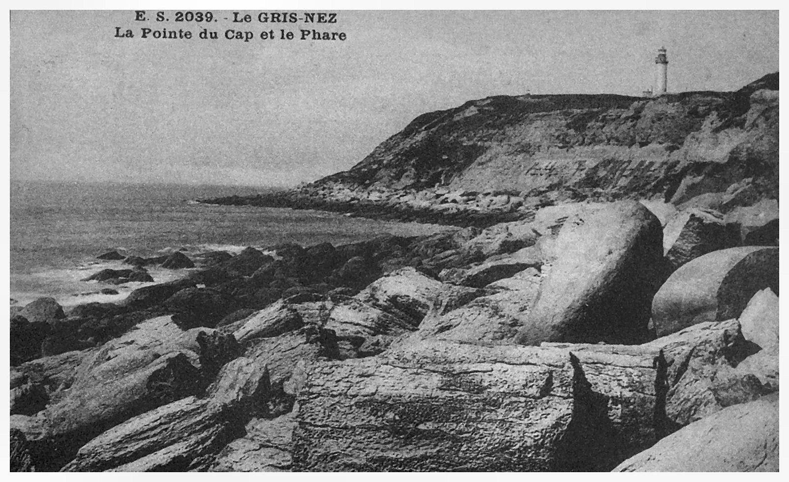 Cap Gris Nez - la Pointe du Cap et le phare