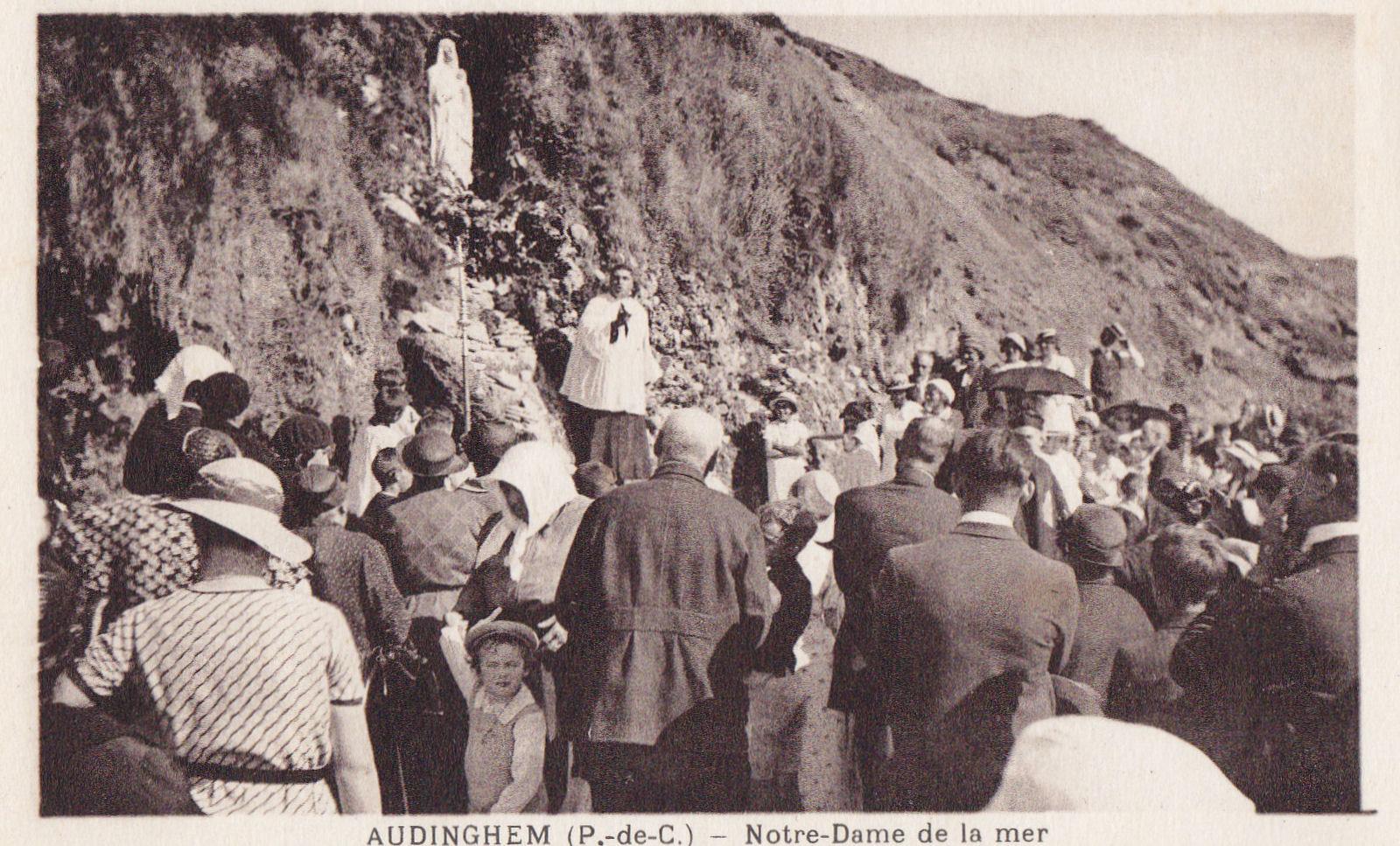 Audinghen Pèlerinage dans les années 30