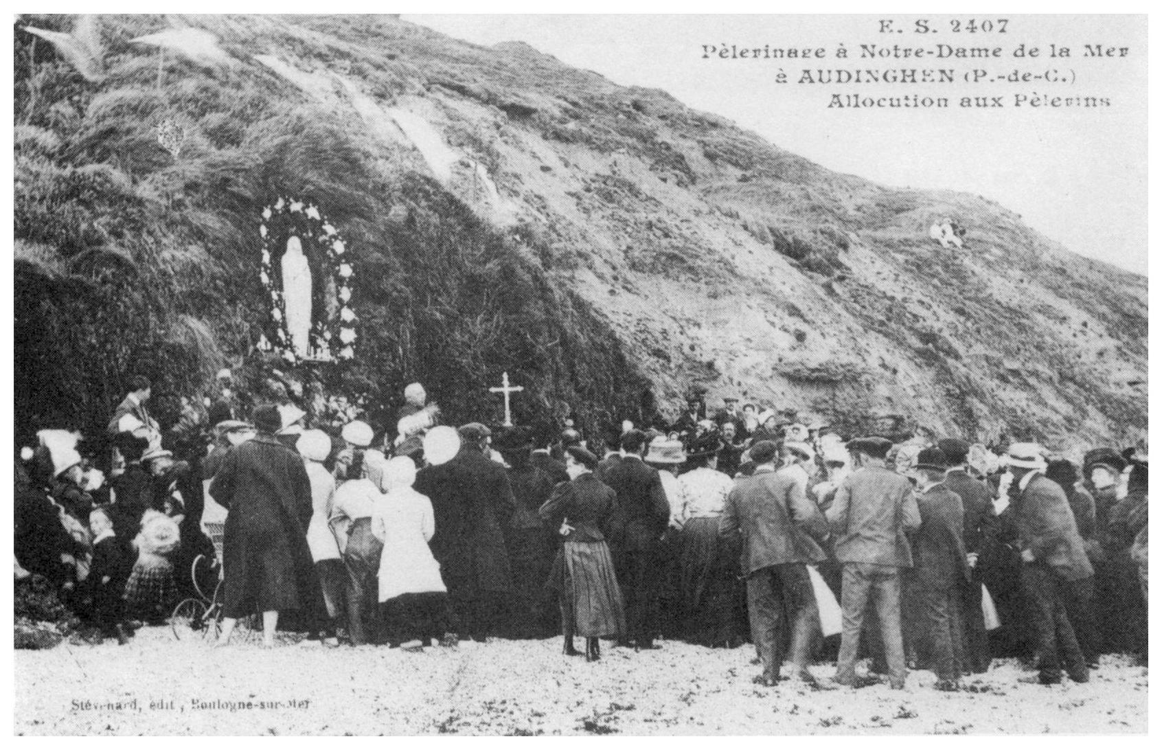 Pèlerinage à Notre Dame de la mer à Audinghen