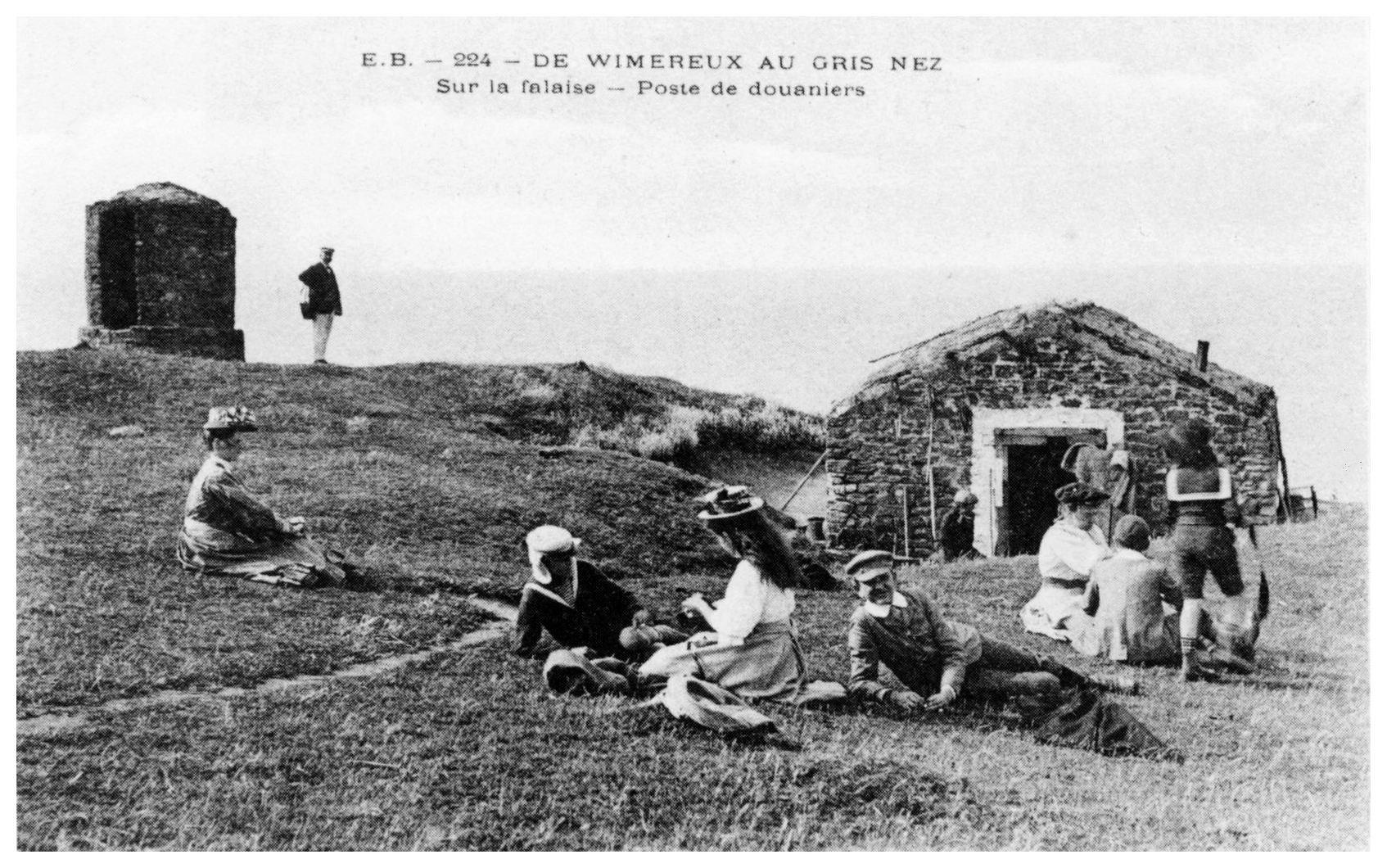 Audinghen - le poste des douaniers au Cap Gris Nez