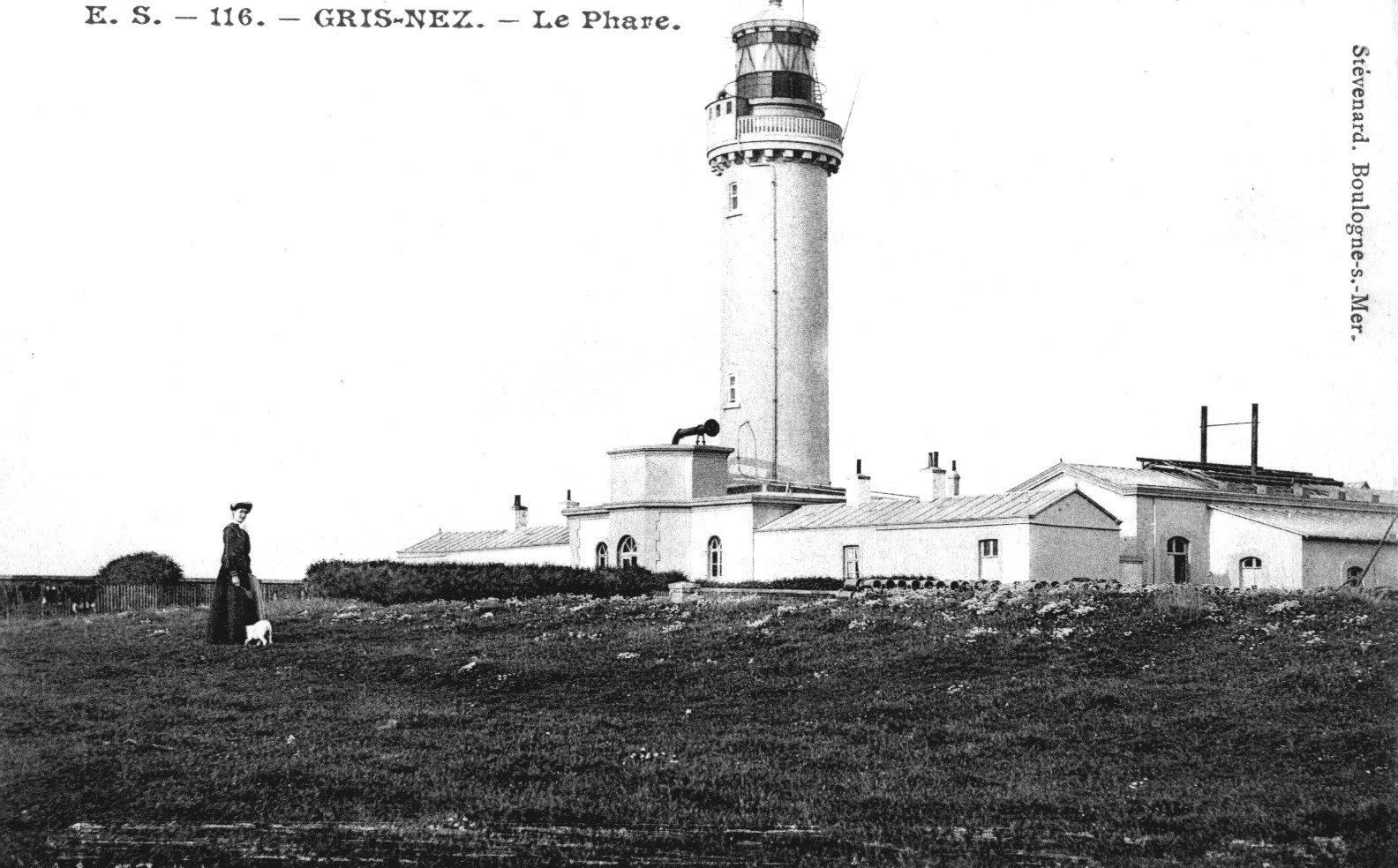 Le phare du Cap Gris Nez à Audinghen