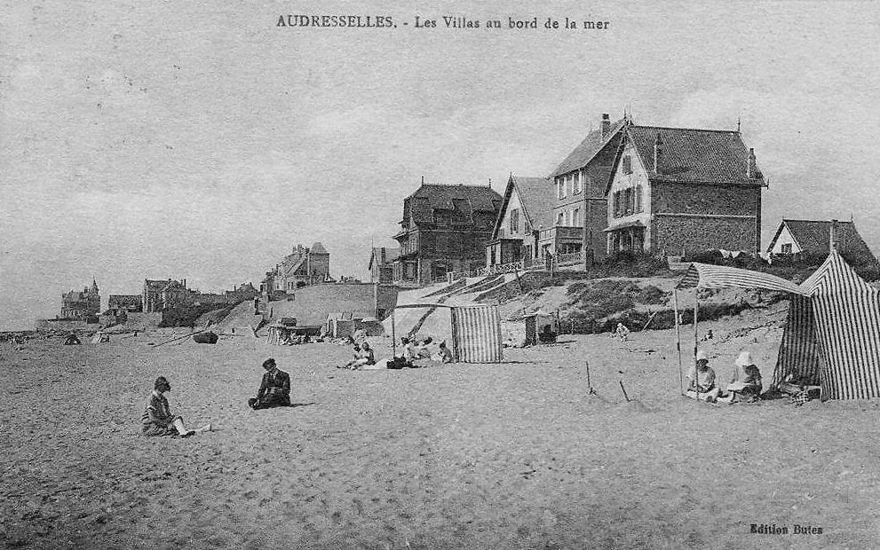 Audresselles villas en bord de mer