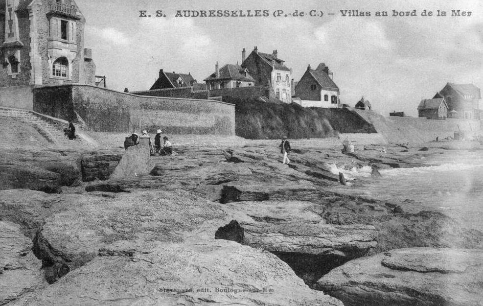 Audresselles villas au bord de mer