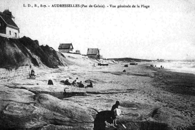 Audresselles - vue générale de la plage