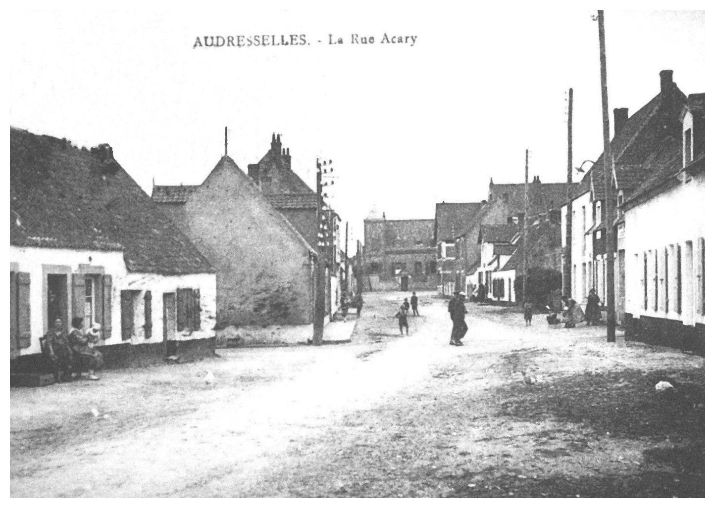 Audresselles - la rue Acary