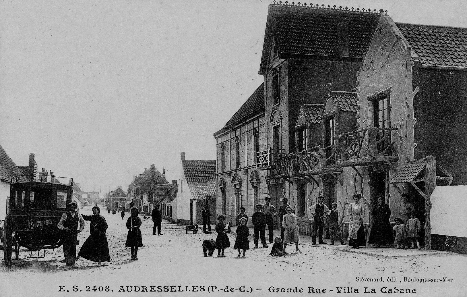 """Audresselles - la villa """"La cabane"""" Grand rue"""