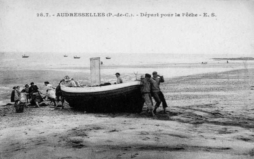 Audresselles départ pour la pêche