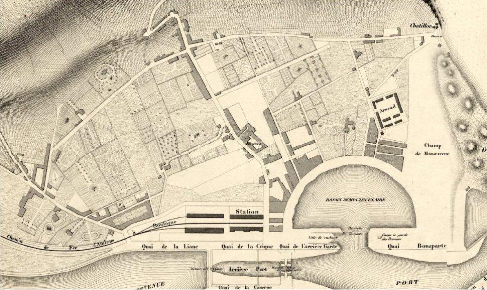 plans q Boulogne-sur-Mer