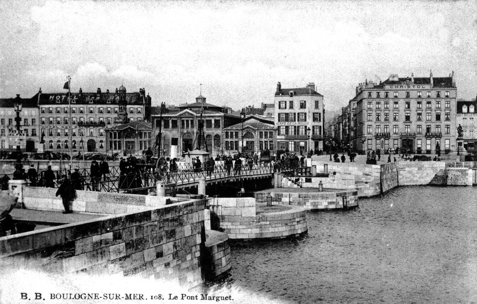Vue du pont Marguet côté Liane