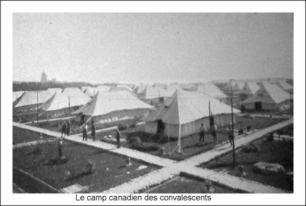 Guerre 14 Le camp canadien des convalescents à Boulogne