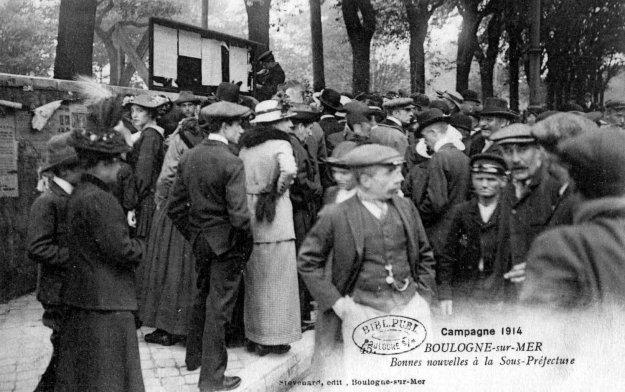 1914 En attente de nouvelles à la sous-préfecture