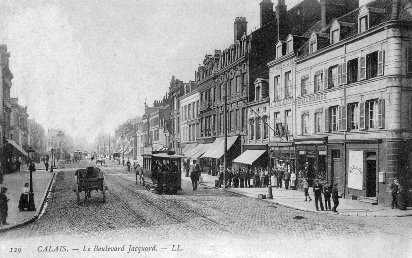 Le Boulevard Jacquard En Cartes Postales