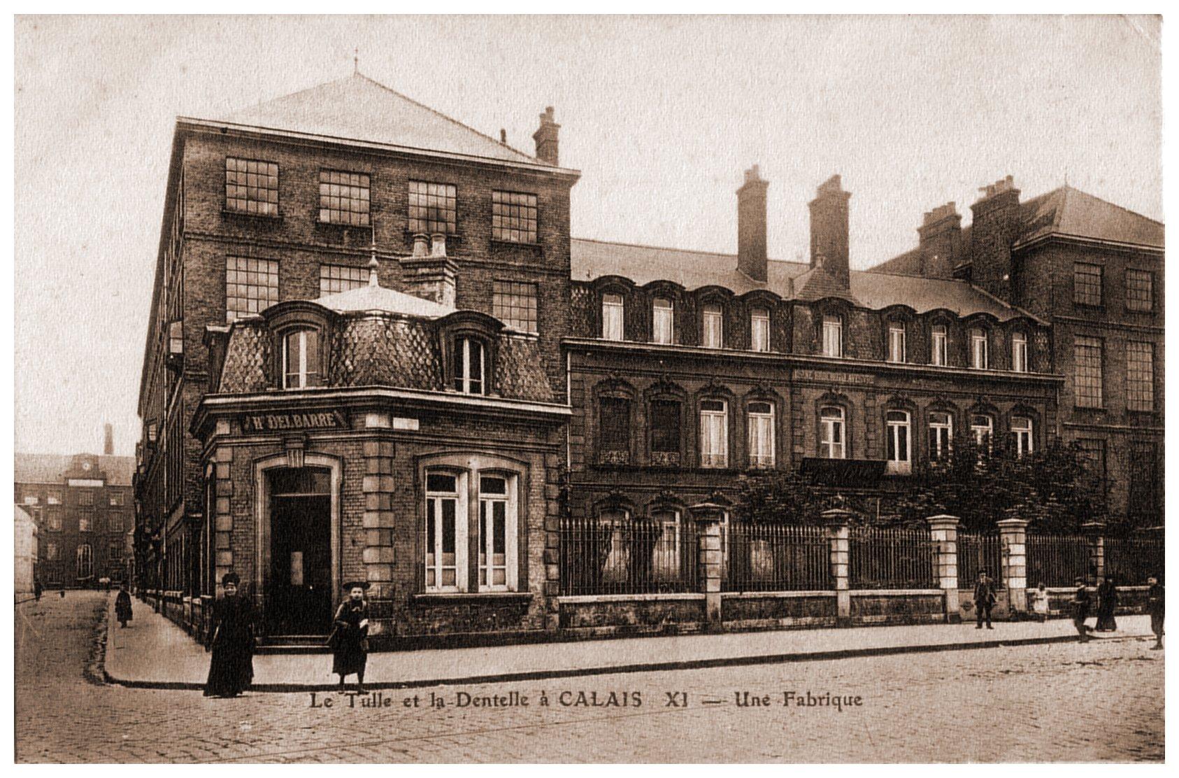 Calais - une fabrique de dentelles