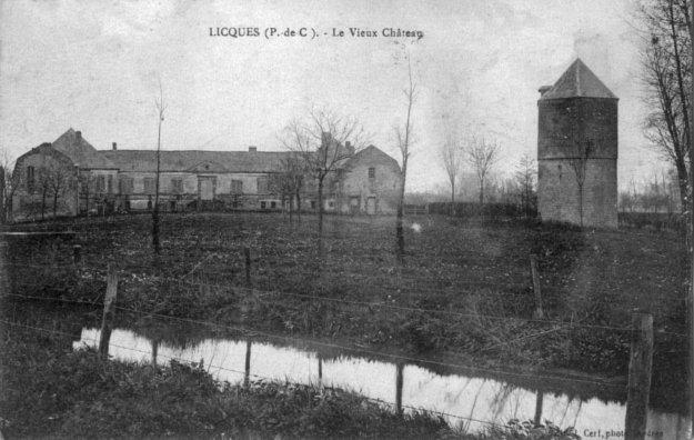 Le vieux château de Licques