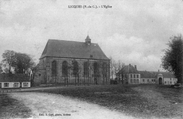 L'église de Licques