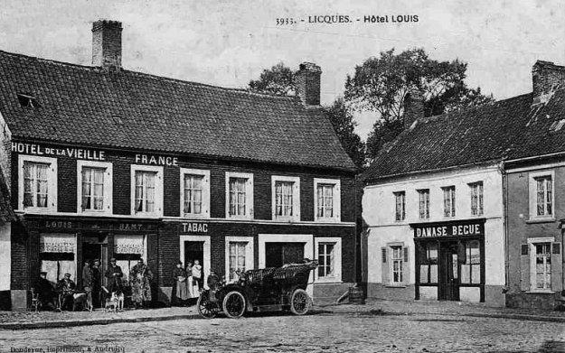 Licques - l'hôtel Louis et de la Vieille France