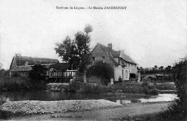 Le moulin d'Audenfort