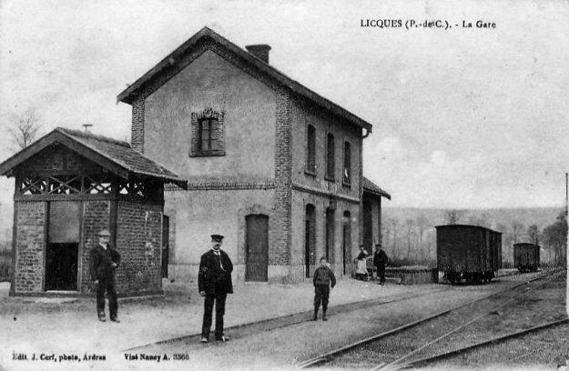 La gare de Licques