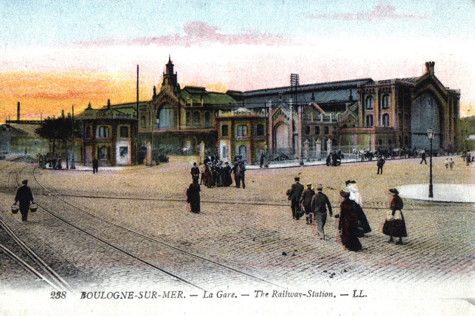 La ligne de chemin de fer calais boulogne - Bureau vallee boulogne sur mer ...