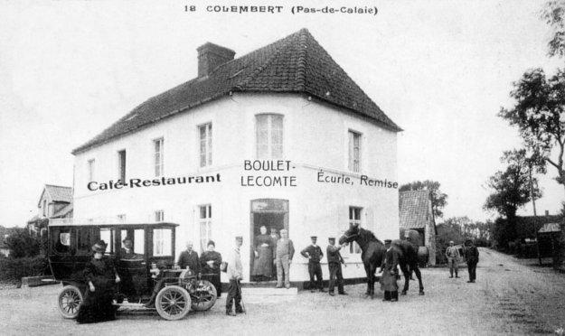Le café restaurant écurie de Colembert