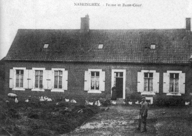 Ferme et basse-cour à Nabringhen