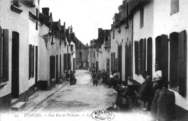 Etaples - une rue de pêcheurs