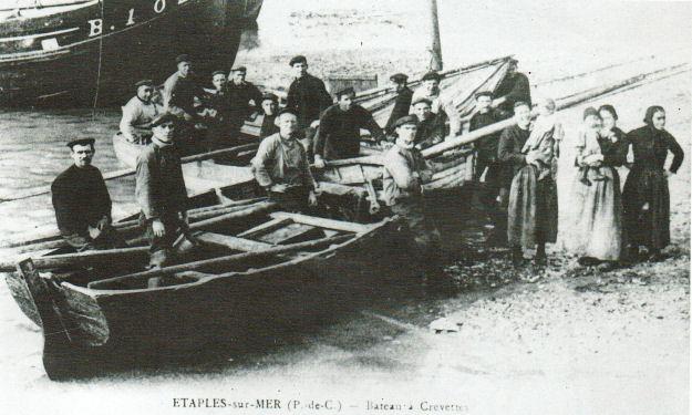 Etaples - bateau pour la pêche à la crevette