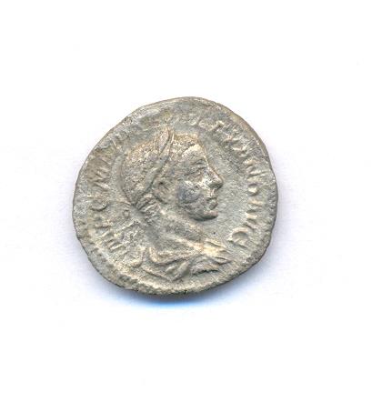 Denier d'Alexandre Sévère trouvé à Wissant